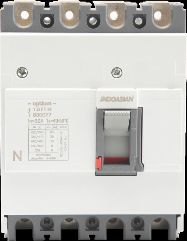 80A 3P 36KA TM Optium 1.0 Fixed F1 MCCB