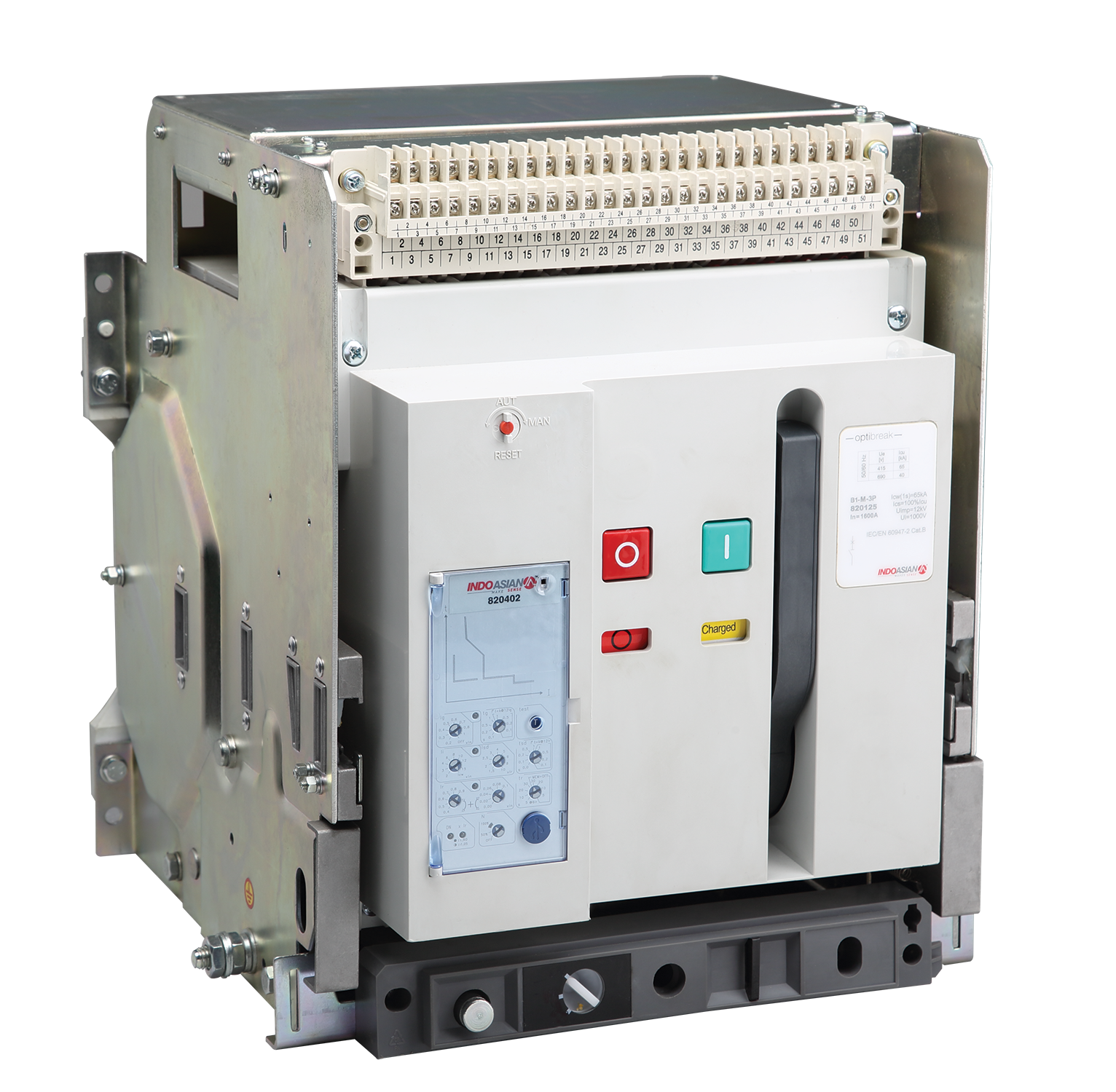 OptiBreak ACB 1 - 100A FP ENCLOSED AC22A ON LOAD CHANGEOVER