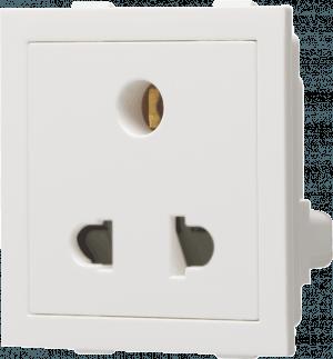 800020 c 300x323 - 6A 3 Pin Universal Socket