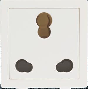 800022 300x302 - 6/16A 3 Pin Socket