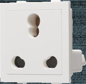 800022 c 300x294 - 6/16A 3 Pin Socket