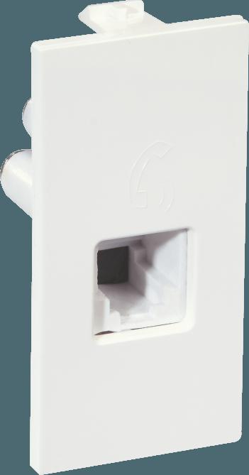 800130 c - Tel Socket - RJ11