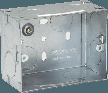 800173 c - METAL FLUSH BOX 3 MODULE