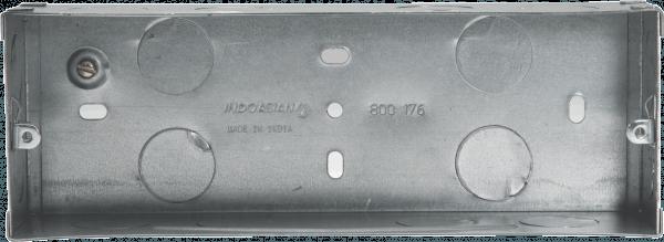 800176 600x219 - METAL FLUSH BOX 6 MODULE