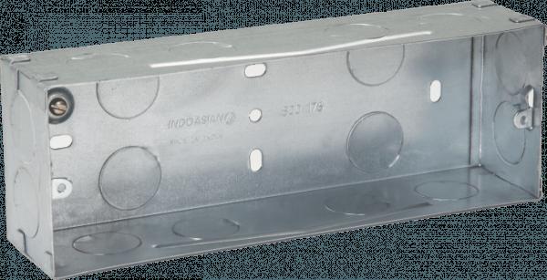 800176 c 600x307 - METAL FLUSH BOX 6 MODULE