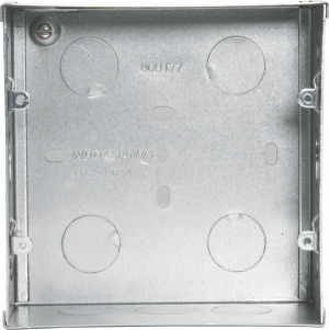 800177 300x301 - METAL FLUSH BOX 8(V) MODULE