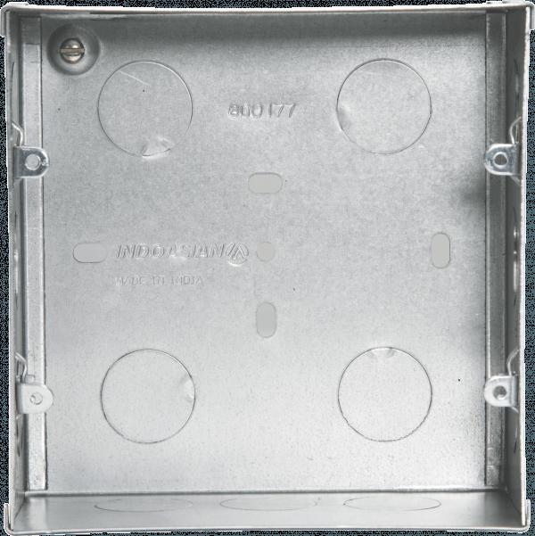 800177 600x601 - METAL FLUSH BOX 8(V) MODULE