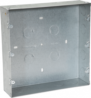 800180 c 300x323 - METAL FLUSH BOX 18 MODULE