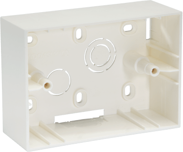 800183 c - PLASTIC SURFACE BOX 3 MODULE
