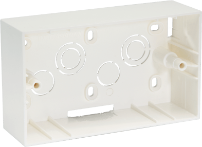 800184 c - PLASTIC SURFACE BOX 4 MODULE