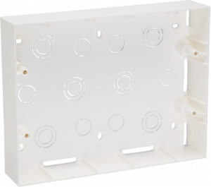 800185 c 300x265 - PLASTIC SURFACE BOX 12 MODULE