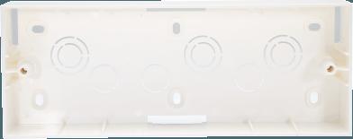800188 - PLASTIC SURFACE BOX 8(H) MODULE
