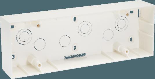 800188 c - PLASTIC SURFACE BOX 8(H) MODULE