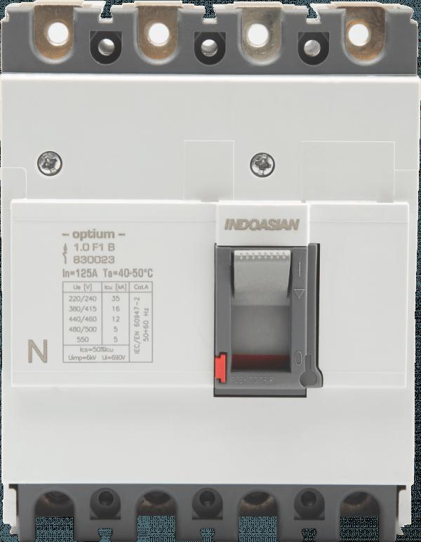 80A 4P 16KA TM Optium 1.0 Fixed F1 MCCB