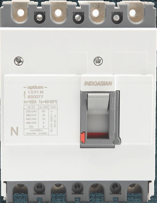 80A 4P 36KA TM Optium 1.0 Fixed F1 MCCB