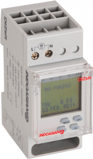 TDA45194 300x512 - TIME SWITCH DIGITAL ASTRO 16A 230V 1CO